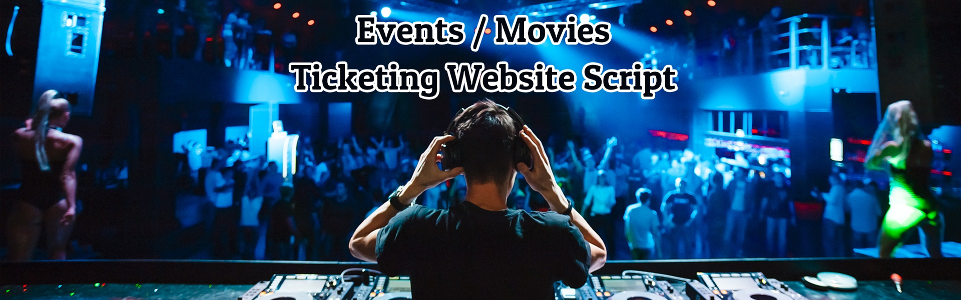 Events Ticketing Website Script